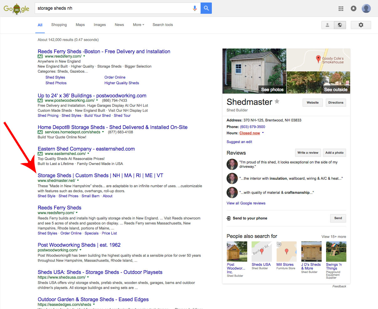 seo marketing great pond design
